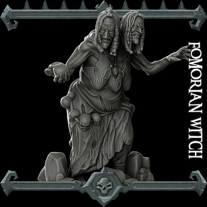 Fomorian Witch