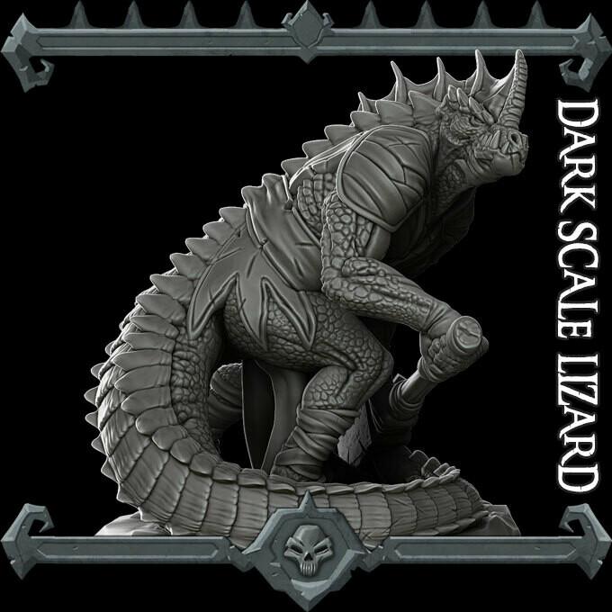 Dark Scale Lizard