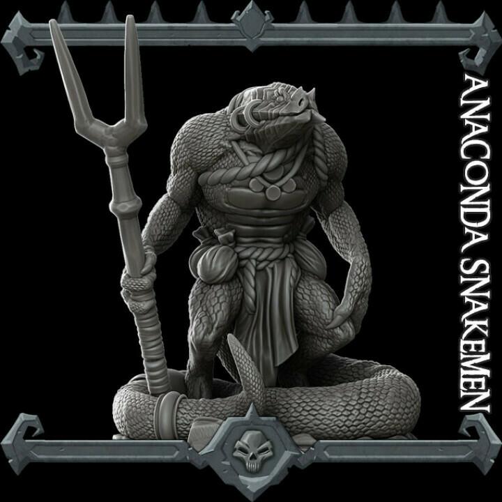 Anaconda Snakemen