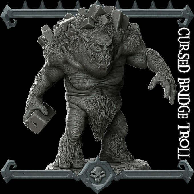 Cursed Bridge Troll