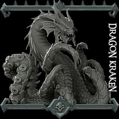 Dragon Kraken