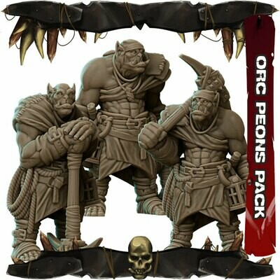 Orc Peons Pack