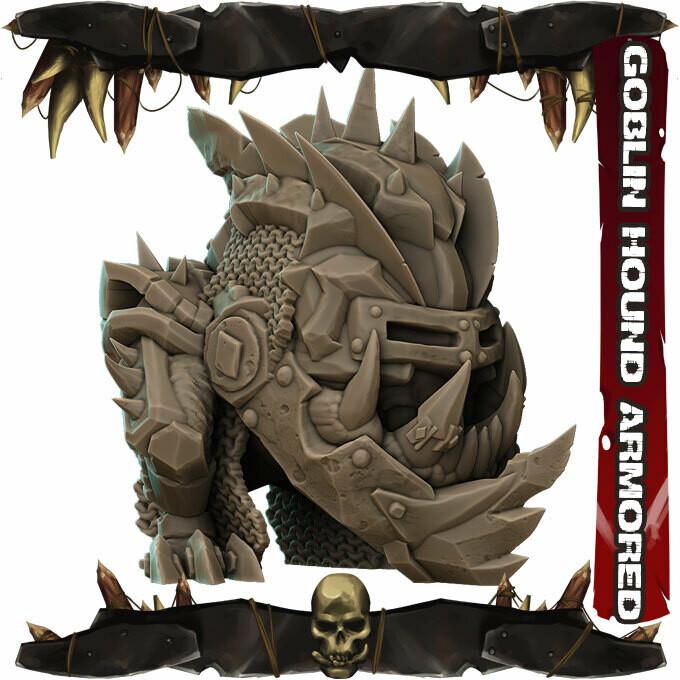 Goblin Hound Armored