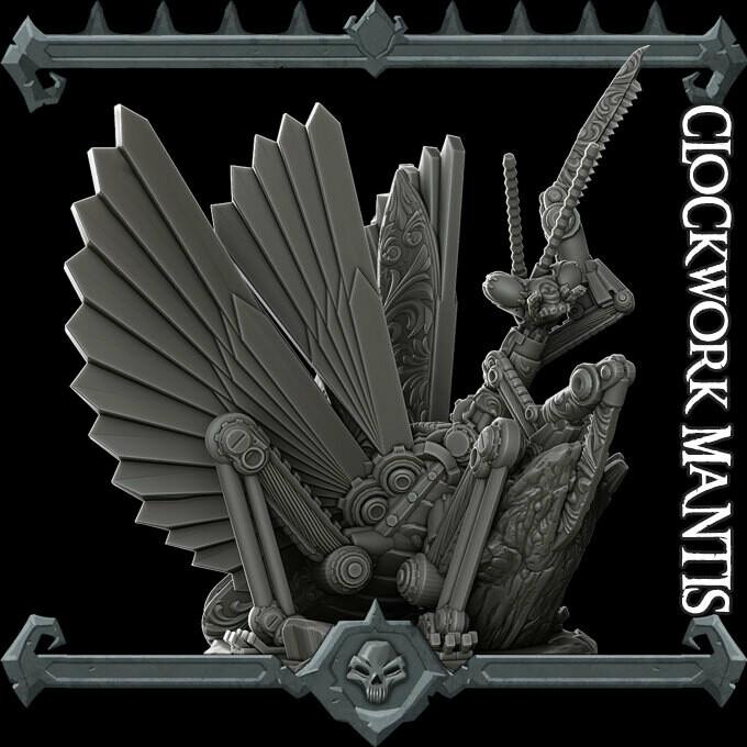Clockwork Mantis