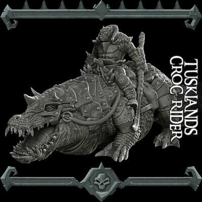 Tusklands Croc Rider Set