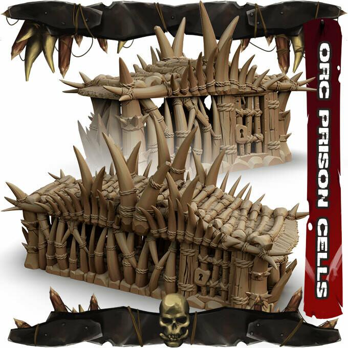 Orc Prison Cells