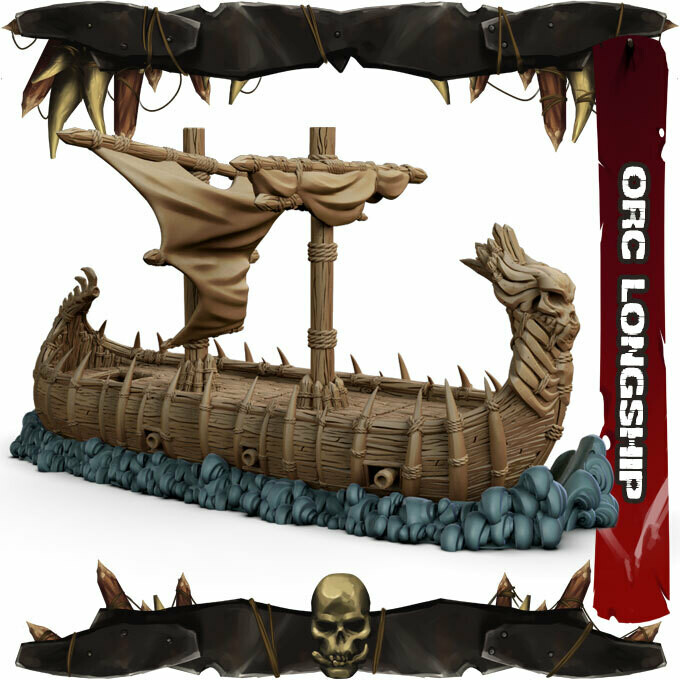 Orc Long Ship