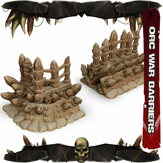 Orc War Barriers
