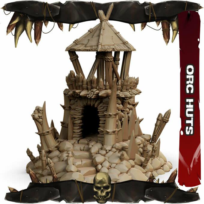 Orc Huts