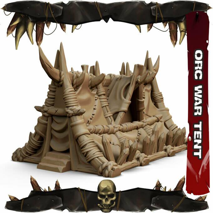 Orc War Tent