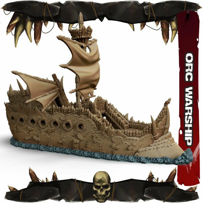 Orc War Ship