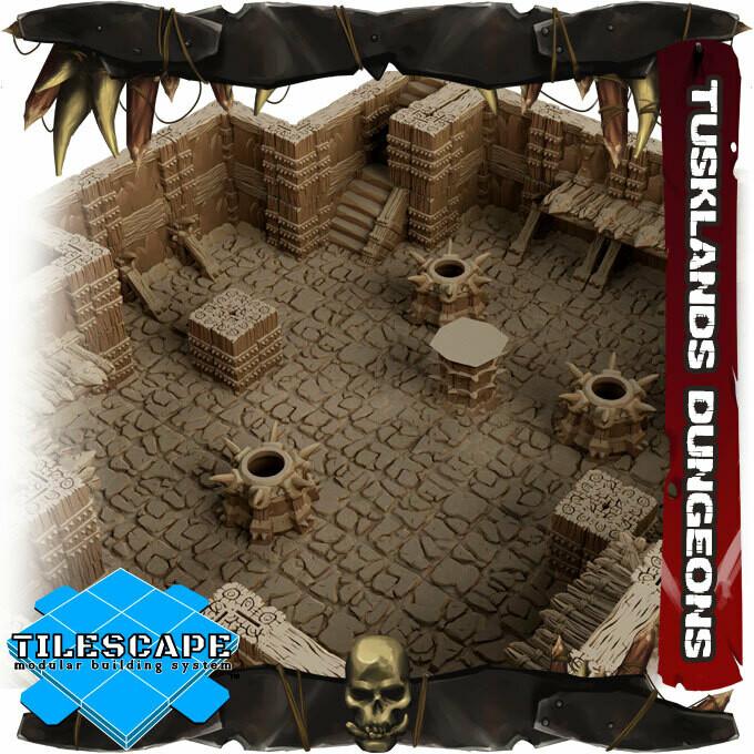Tusklands Dungeons Set