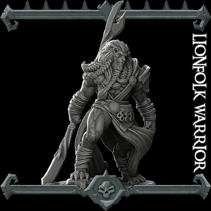 Lionfolk Warrior