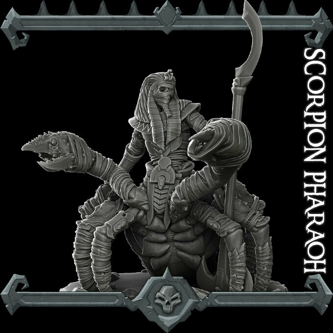 Scorpion Pharoah