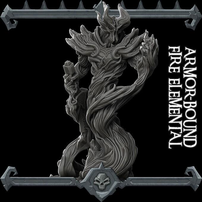 Armorbound Fire Elemental