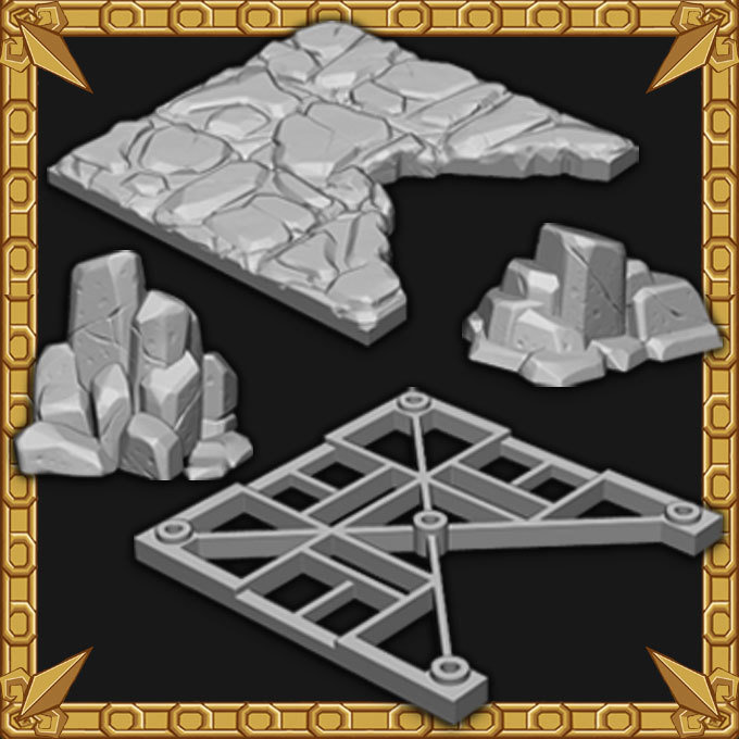 Cavern Expansion: Cavern Edge Tiles