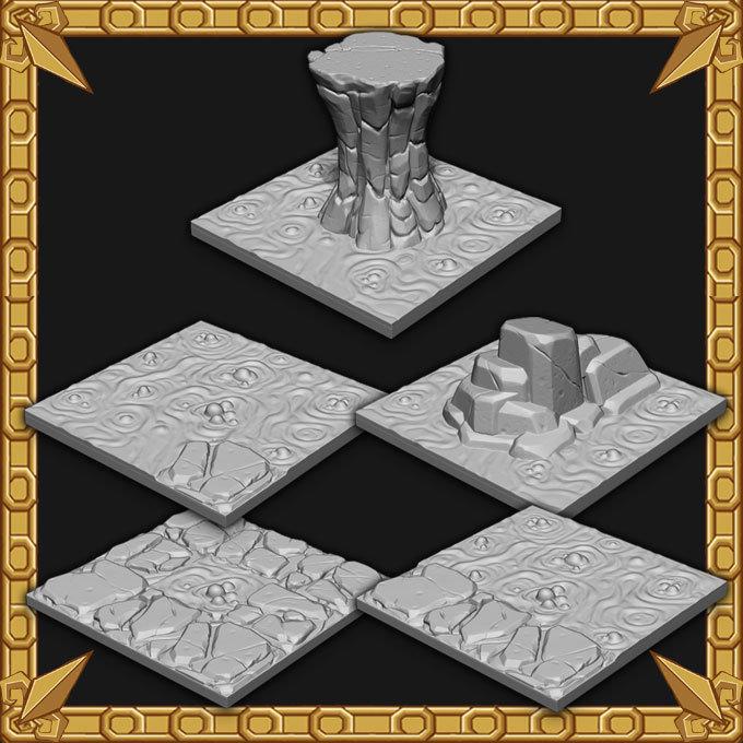 Cavern Expansion: Cavern Lava Tiles