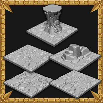 Cavern Expansion: Cavern Lava Tiles