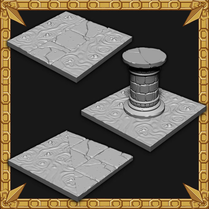 Dungeon Expansion: Dungeon Lava Tiles