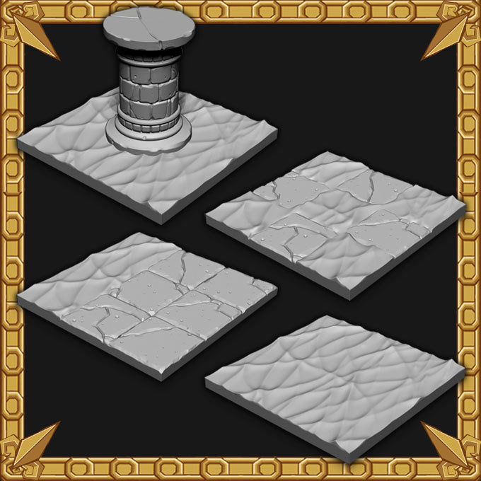 Dungeon Expansion: Dungeon Water Tiles