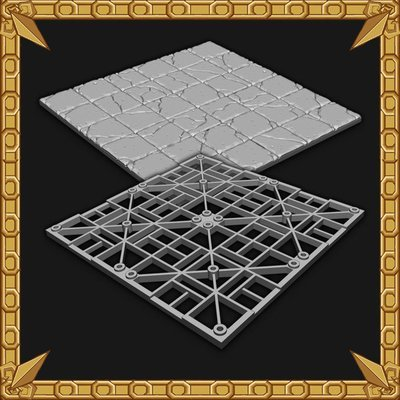 Tilescape™ DUNGEONS Large Dungeon Tiles