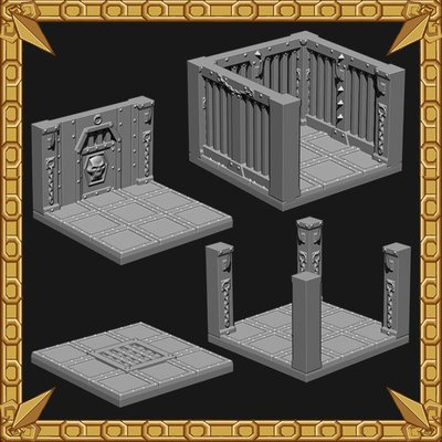 Dungeon Expansion: Prison of the Iron Sentinel