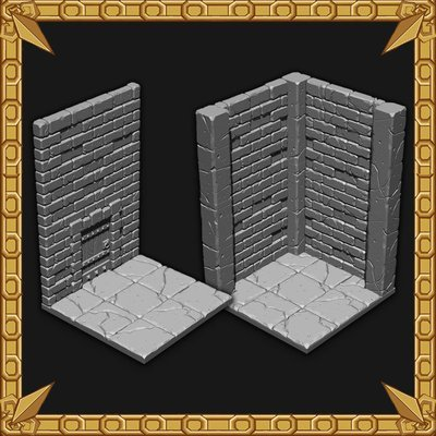 High Dungeon Walls Pack