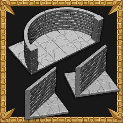 Angled and Curved Wall Pack