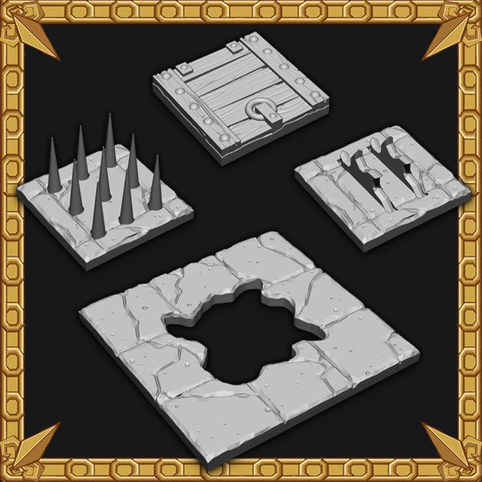 Floor Traps Pack