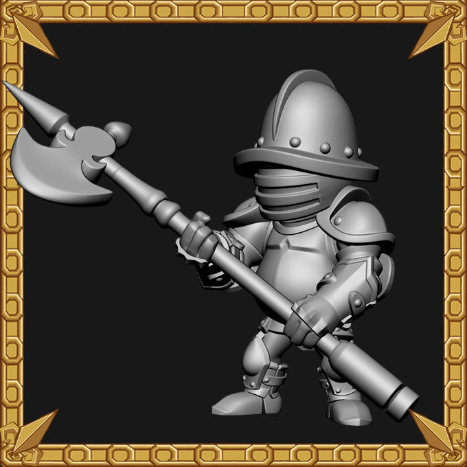 Castle Guard Pikeman