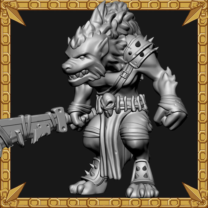 Gnoll Cleaver