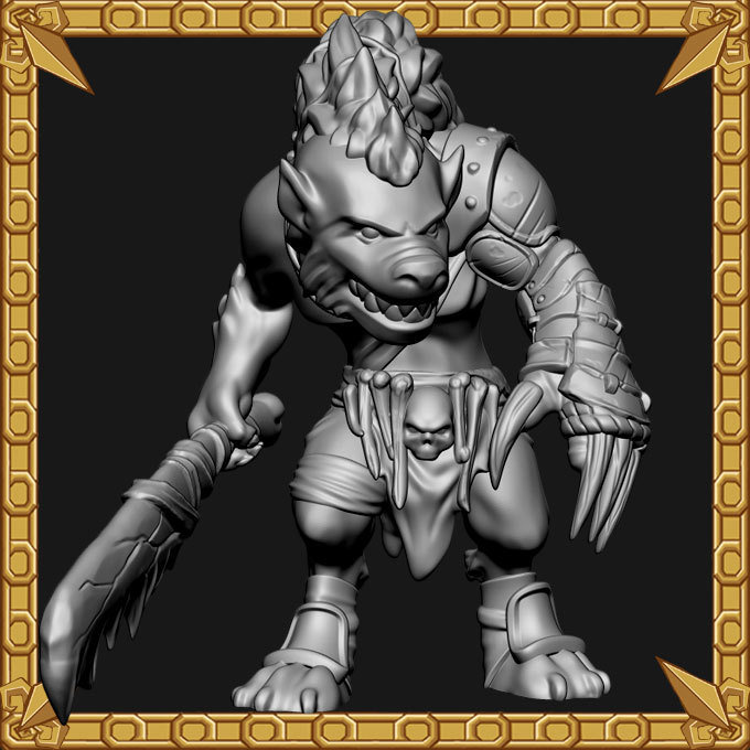 Gnoll Clawmaster