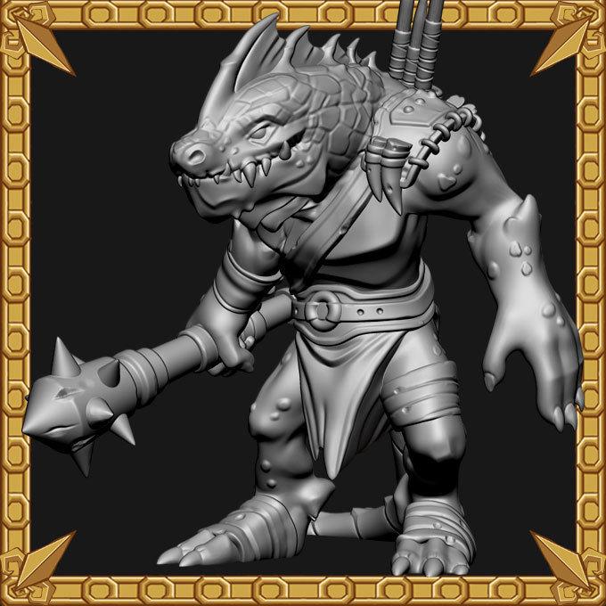 Lizardman Guardian