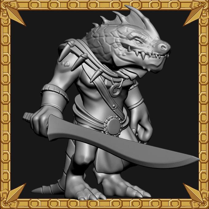 Lizardman Flayer