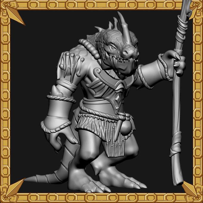 Lizardman Mystic