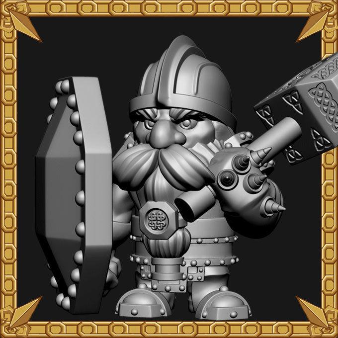 Dwarf Shield Bearer