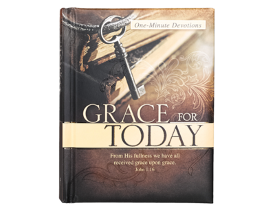 ONE MINUTE DEVOTIONS GRACE FOR TODAY HARD COVER