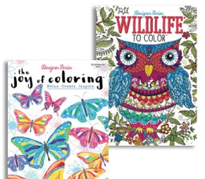 JOY OF COLORING ADULT COLORING BOOKS