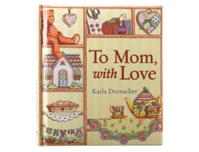 """""""TO MOM, WITH LOVE"""" GIFT BOOK"""