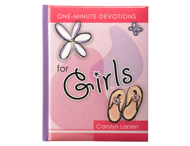 ONE-MINUTE DEVOTIONS FOR GIRLS