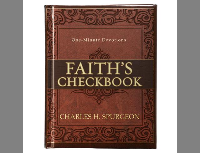 ONE-MINUTE DEVOTIONS: FAITH'S CHECKBOOK