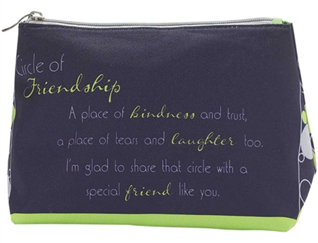 COSMETIC BAG-POLY/CANVAS