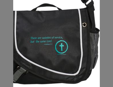 Christ-Centered Service Messenger Bag