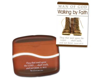 Walking by Faith Screen & Keyboard Cleaner with Card