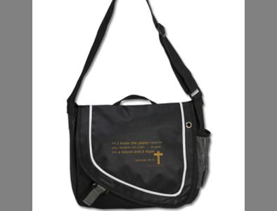 Journey On Never Alone Messenger Bag