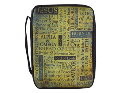 BIBLE COVER NAMES OF JESUS L