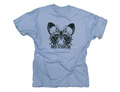 BUTTERFLY NEW CREATION LT BLUE
