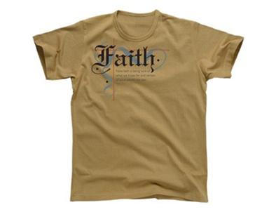 FAITH TSHIRT KHAKI