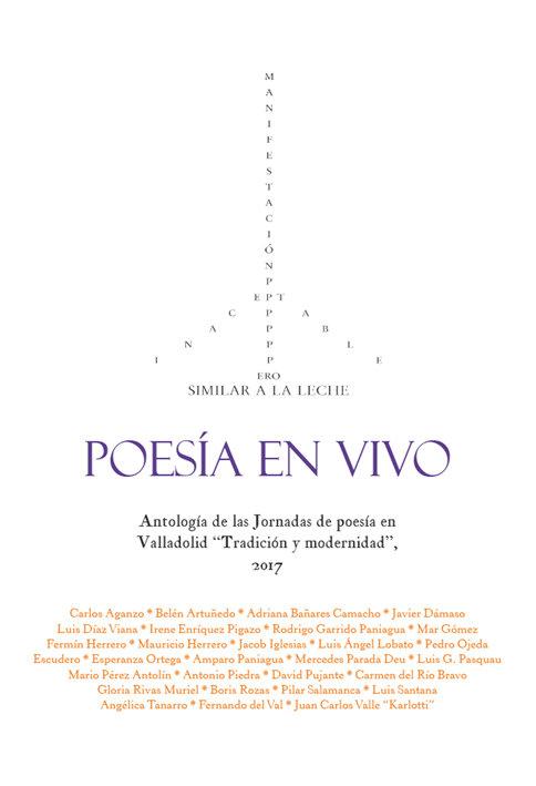 Poesía en vivo, de VVAA