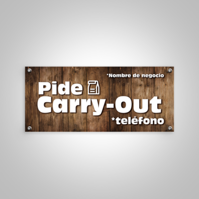 Banner Carry-Out
